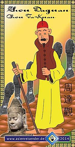 Zhou Daguan by Asienreisender