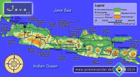 Interactive Map of Java